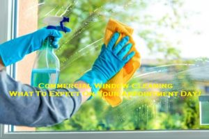 Commercial Window Cleaning – What To Expect On Your Appointment Day?
